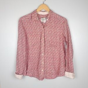 Anthropologie | Holding Horses pink buttondown